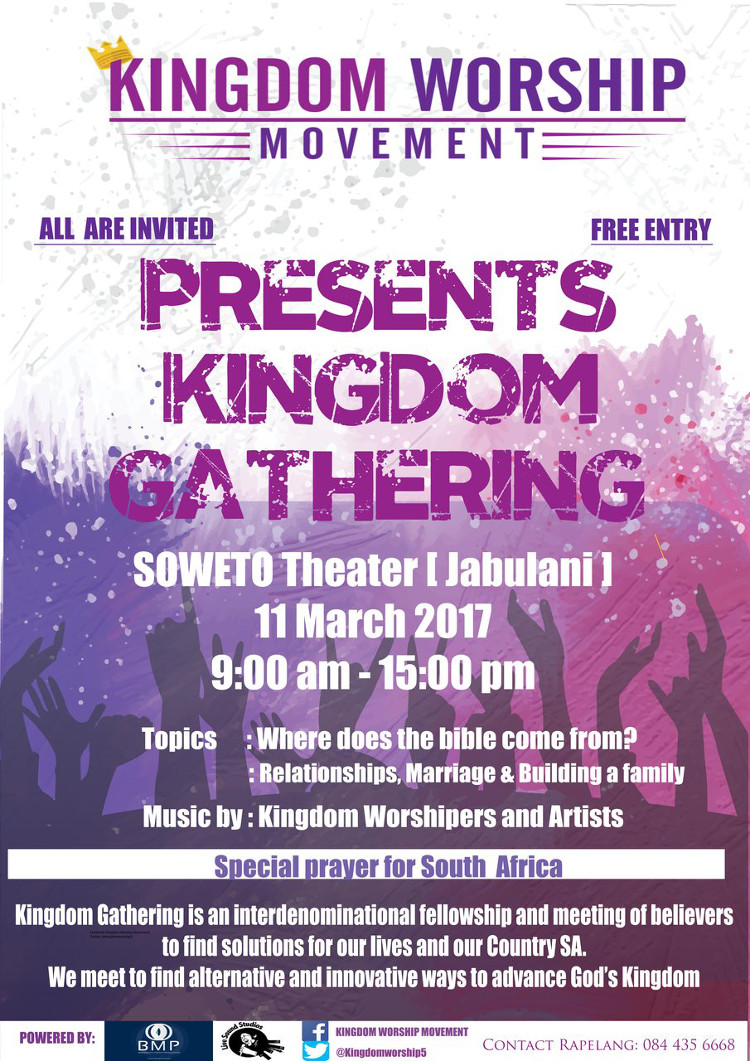 Kingdom Worship Movement Poster