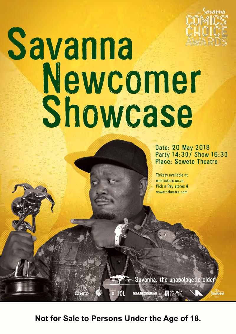 Savanna Newcomer showcase poster 2018