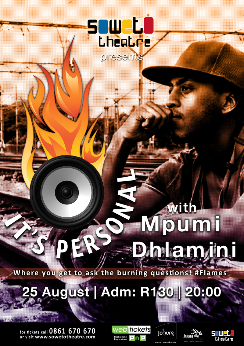 Its Personal_MpumiDhlamini_Flyer