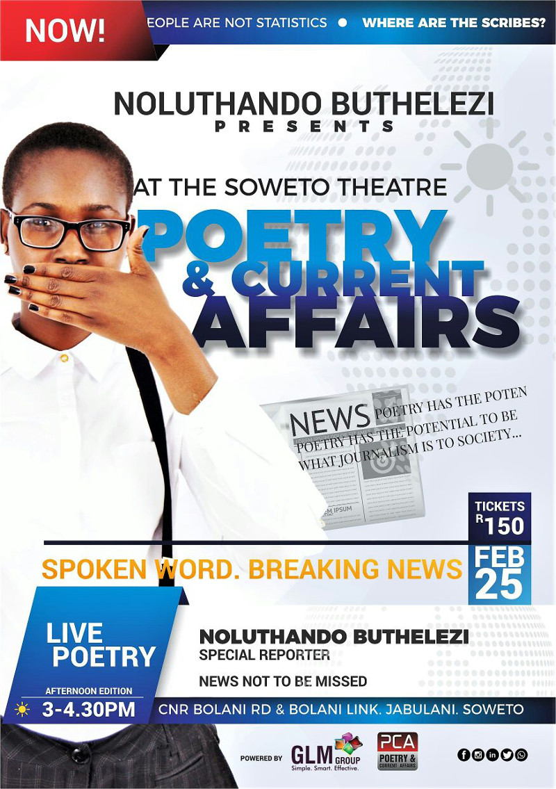 Poetry Current Affairs Poster