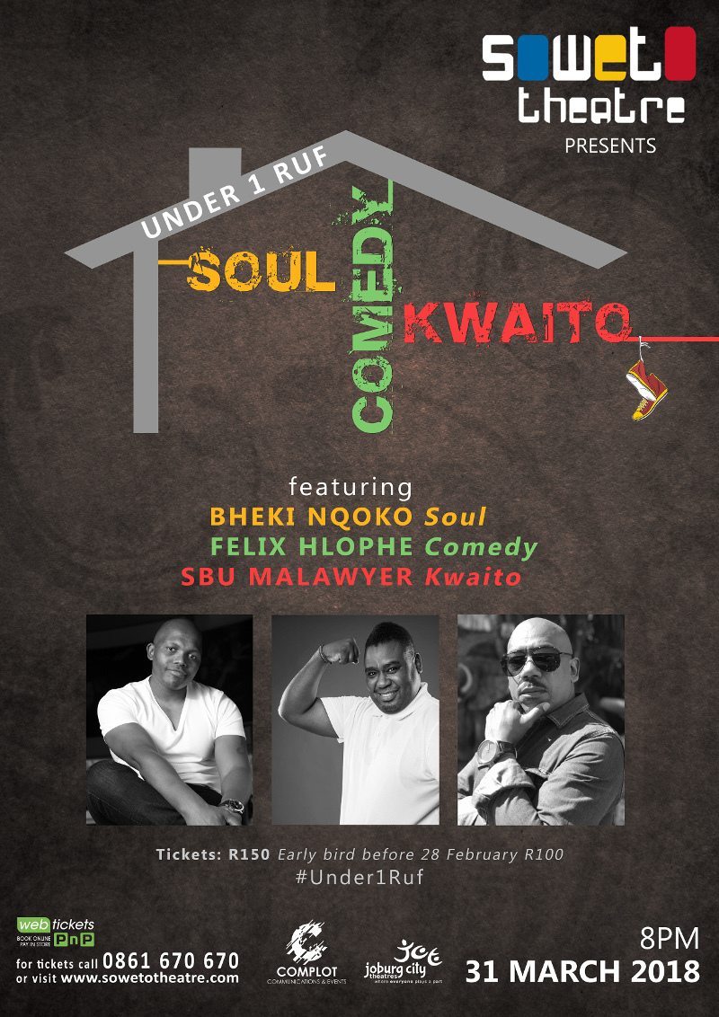 SoulComedy&Kwaito_A5 Flyer