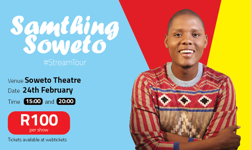 SamThing Soweto_StreamTour Poster
