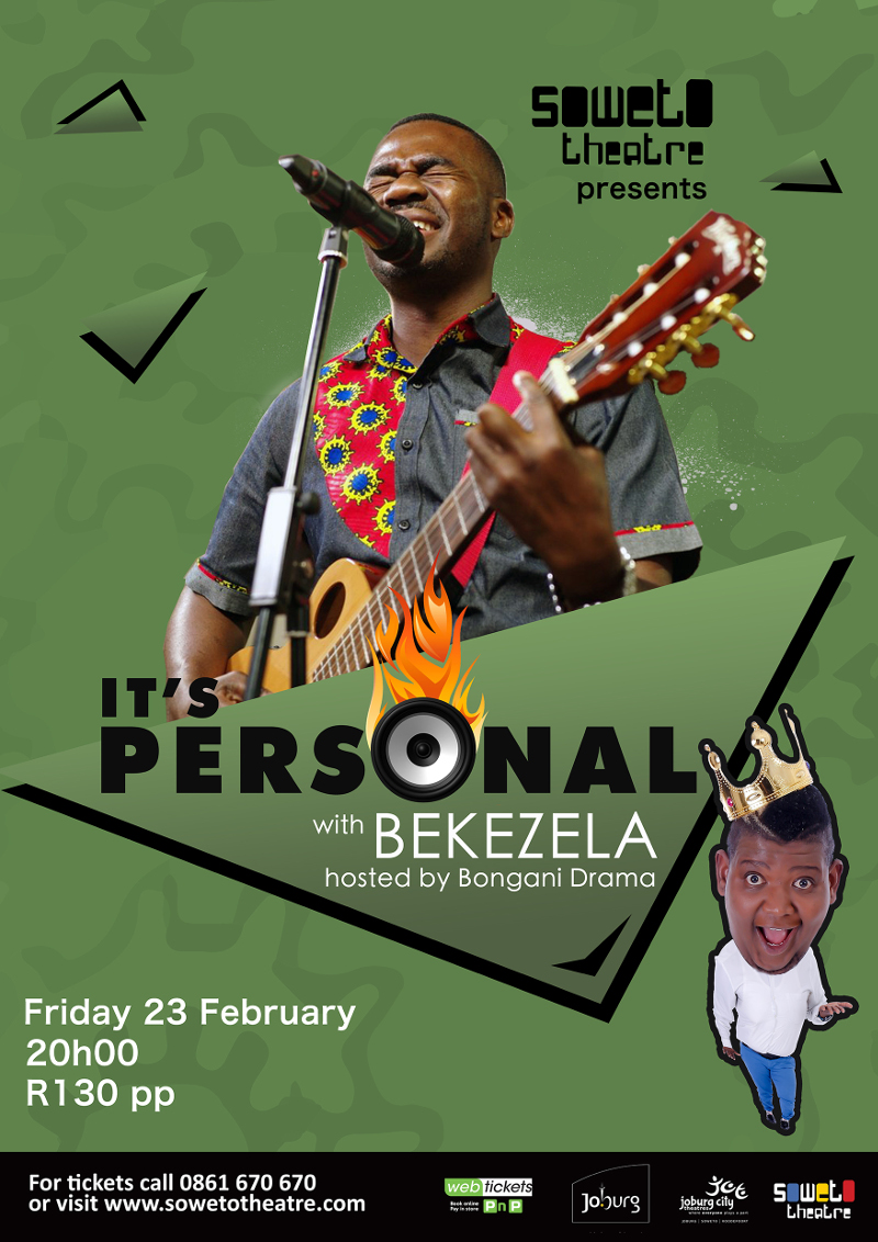 ItsPersonal with Bekezela Poster