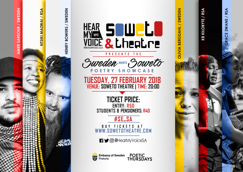 Sweden meets Soweto 27th February