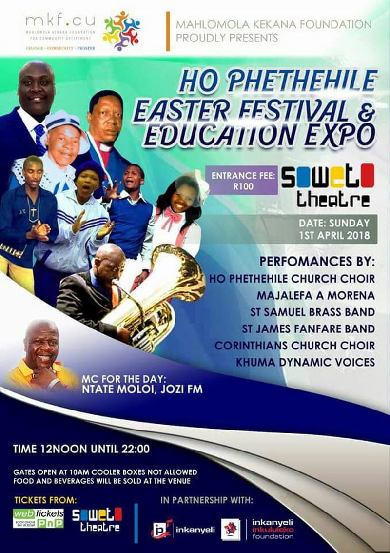 HOPHETHEHILE EASTER FESTIVAL Poster 2