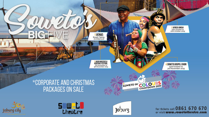 SOWETO'S BIG FIVE (info) – Soweto Theatre